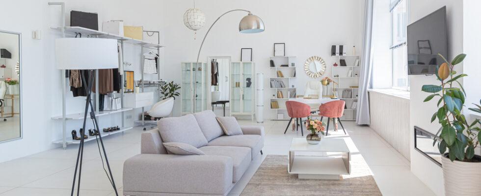 carrelage pour salle de séjour moderne